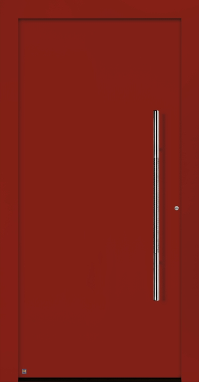 Motiv 860 Thermo Carbon in Vorzugsfarbton Rubinrot matt, RAL 3003