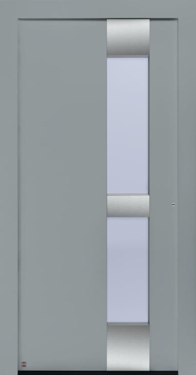 Motiv 310 Thermo Carbon in Vorzugsfarbton Fenstergrau matt, RAL 7040