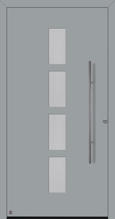 Motiv 501 Thermo Safe in Vorzugsfarbe Fenstergrau matt, RAL 7040