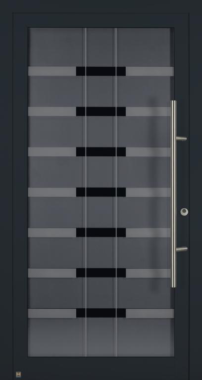 Motiv 100 MG 111 in Vorzugsfarbton Anthrazitgrau matt, RAL 7016