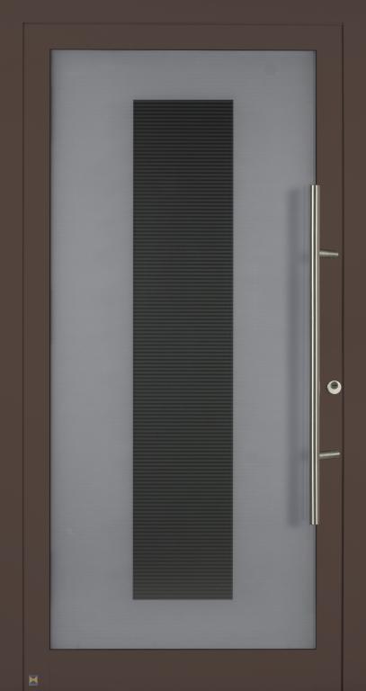 Motiv 100 MG 112, CH 607 Maronefarben, strukturiert